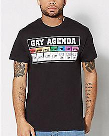 Gay Agenda Calendar T shirt