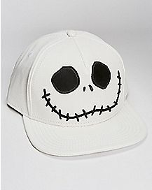 Jack Skellington Nightmare Before Christmas Snapback Hat