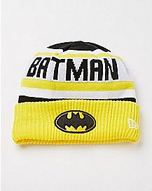 New Era Batman Cuff Beanie Hat