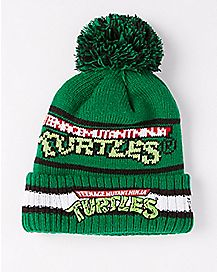 New Era Vintage Teenage Mutant Ninja Turtles Pom Beanie