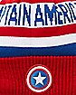 New Era Captain America Cuff Beanie Hat
