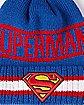 New Era Vintage Pom DC Comics Superman Beanie
