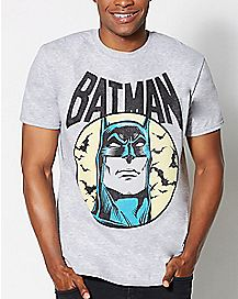 Bats Face Batman DC Comics T Shirt