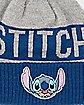 Stitch Pom Beanie Hat