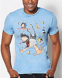 Falling Comic Bob's Burgers T Shirt