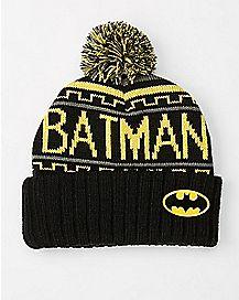 Batman Pom Beanie Hat