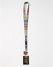 ID Badge Static Five Nights at Freddy's Lanyard