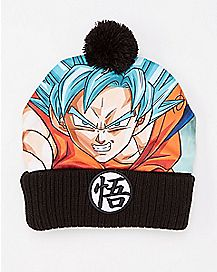 Goku Dragon Ball Z Pom Beanie Hat