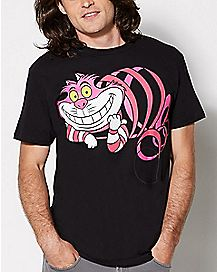 Cheshire Cat T Shirt - Alice in Wonderland