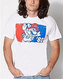Flying Mario T Shirt