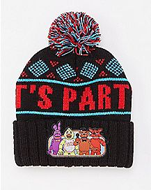 Five Night's at Freddy's Pom Beanie Hat