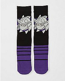 Shredder TMNT Crew Socks