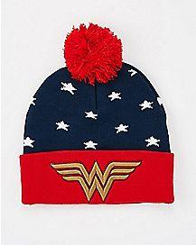 Wonder Woman Beanie Hat