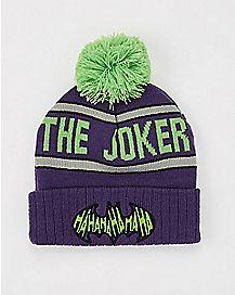 The Joker Pom Beanie Hat