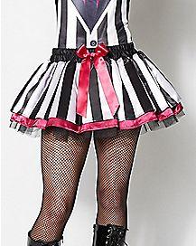 Tulle Beetlejuice Tutu Skirt
