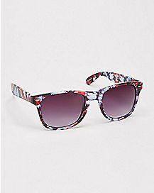 Splatter Art Retro Sunglasses