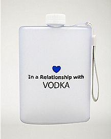 Relationship With Vodka Flask - 13.5 oz