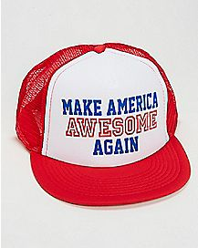Make America Awesome Trucker Hat