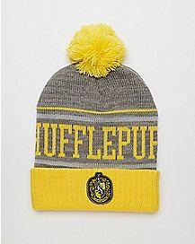 Hufflepuff Harry Potter Pom Beanie Hat