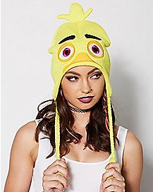 Chica Laplander Hat - Five Nights At Freddy's
