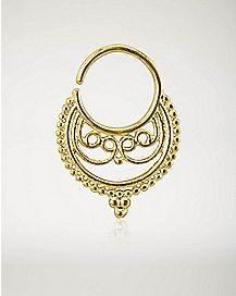 Tribal Seamless Septum - 16 Gauge