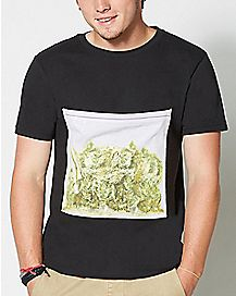 Bag Of Weed Pocket T Shirt