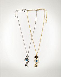 BFF Dreamcatcher Necklace 2 Pack