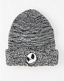 Nightmare Before Christmas Cuff Beanie Hat