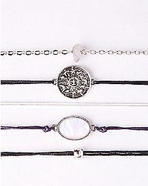 Sun Opal-Effect Bracelet 5 Pack