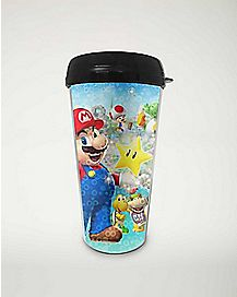 Group Super Mario Party Brothers Travel Mug 16 Oz