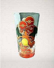 Charizard Pint Glass