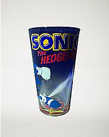 Sonic The Hedgehod Pint Glass - 16 oz