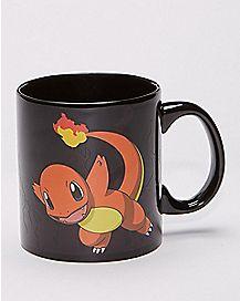 Heat Changing Charmander Coffee Mug 20 oz. - Pokemon