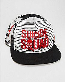 Suicide Squad Mug Shot Snapback Hat