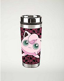Jigglypuff Pokemon Travel Mug 16 oz