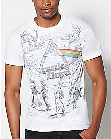 Doodle Pink Floyd T Shirt