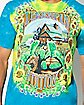 Tie Dye Turtle Grateful Dead T Shirt