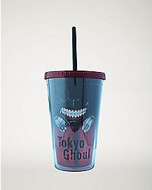 Tokyo Ghoul Mast Cup With Straw - 16 oz