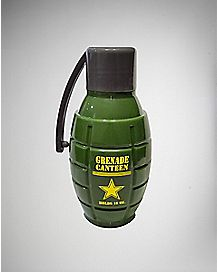 Grenade Canteen Water Bottle - 16 oz.