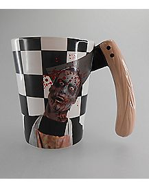 Wood Axe Handle Zombie Mug 16 Oz