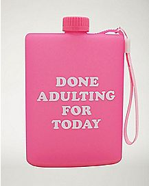 Done Adulting Today Flask - 4 oz