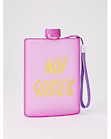 Not Sober Wristlet Flask - 4 oz.