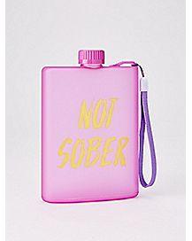 Not Sober Wistlet Flask