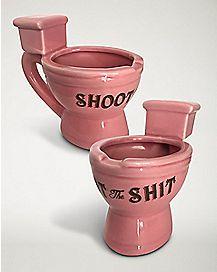 Shoot The Shit Shot Glass 2 oz