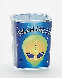 Beam Me Up Square Shot Glass - 2 oz.