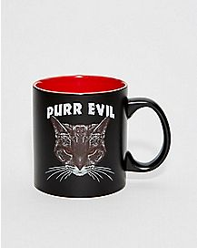 Purr Evil Coffee Mug