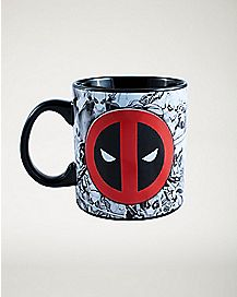 Deadpool Collage Mug - 20 oz