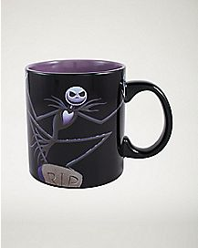 Jack Nightmare Before Christmas Heat Changing Mug  20 oz