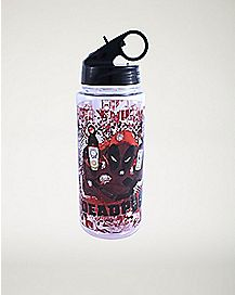 Gun Deadpool Marvel Water Bottle 25 oz