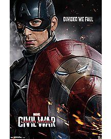 Civil War Captain America Movie Poster